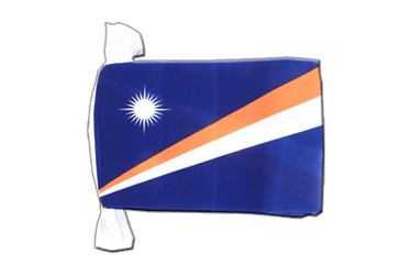 "Marshall Islands Flag Bunting 6x9"", 9 m"