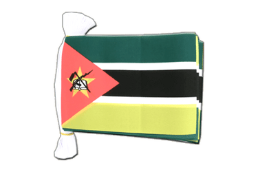 "Mozambique Flag Bunting 6x9"", 9 m"