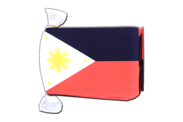 "Philippines Flag Bunting 6x9"", 9 m"