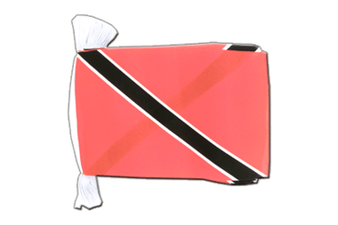 "Trinidad and Tobago Flag Bunting 6x9"", 9 m"