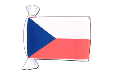 Czech Republic - Flag Bunting 6x9""