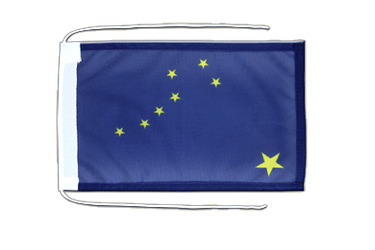 Alaska Flag with ropes 8x12""