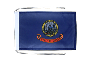 Idaho Flag with ropes 8x12""