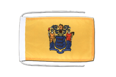 New Jersey Flagge 20 x 30 cm