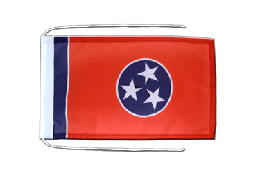 Tennessee Flag with ropes 8x12""