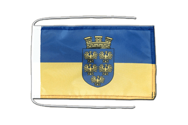 Lower Austria Flag with ropes 8x12""