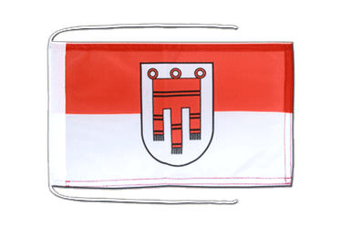 Vorarlberg Flag with ropes 8x12""