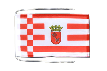 Bremen Flag with ropes 8x12""