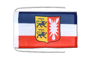 Schleswig-Holstein - Flag with ropes 8x12""