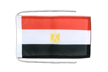 Egypt - Flag with ropes 8x12""