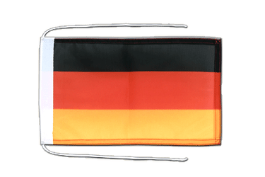 Germany Flag with ropes 8x12""