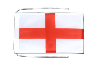 England St. George - Flag with ropes 8x12""