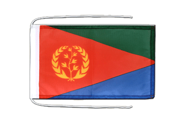 Eritrea Flag with ropes 8x12""