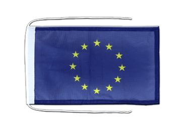 European Union EU Flag with ropes 8x12""