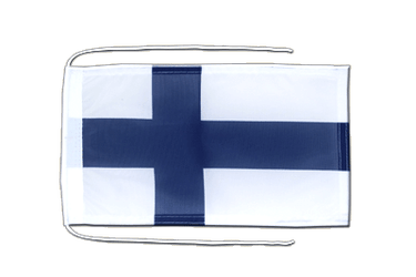 Finland Flag with ropes 8x12""
