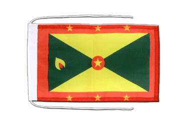 Grenada Flag with ropes 8x12""