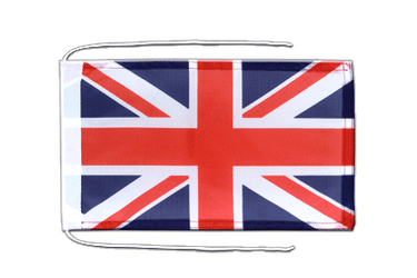 Great Britain Flag with ropes 8x12""