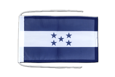 Honduras Flag with ropes 8x12""