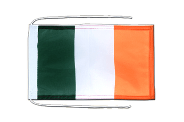 Ireland - Flag with ropes 8x12""