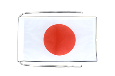 Japan Flag with ropes 8x12""