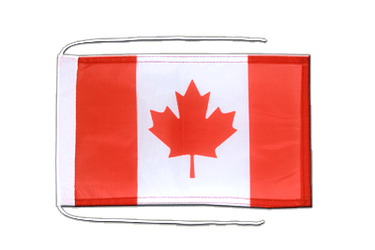 Canada - Flag with ropes 8x12""