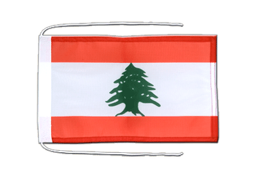 Lebanon Flag with ropes 8x12""
