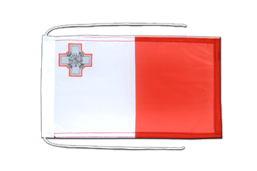 Malta Flag with ropes 8x12""