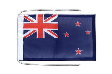 New Zealand Flag with ropes 8x12""