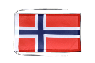 Norway Flag with ropes 8x12""