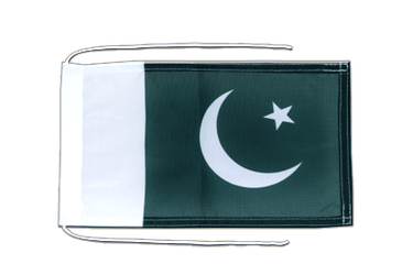 Pakistan Flag with ropes 8x12""