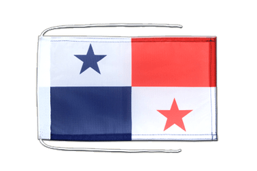 Panama Flag with ropes 8x12""
