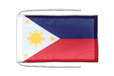 Philippines Flag with ropes 8x12""
