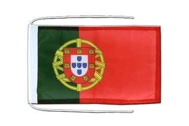 Portugal Flag with ropes 8x12""