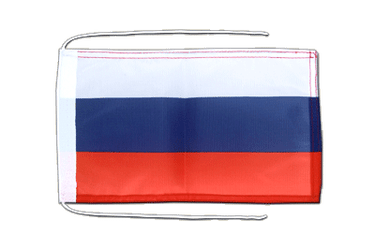 Russia Flag with ropes 8x12""