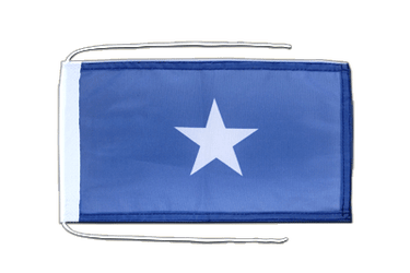 Somalia Flag with ropes 8x12""