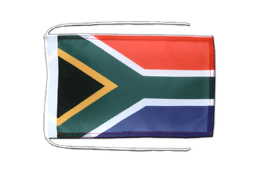 South Africa Flag with ropes 8x12""