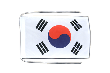 South Korea Flag with ropes 8x12""