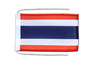 Thailand Flag with ropes 8x12""