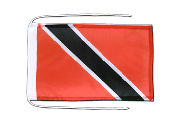 Trinidad and Tobago Flag with ropes 8x12""