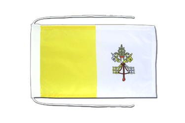 Vatican Flag with ropes 8x12""
