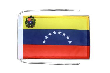 Venezuela 8 stars Flag with ropes 8x12""