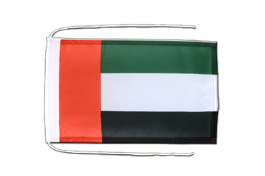 United Arab Emirates Flag with ropes 8x12""