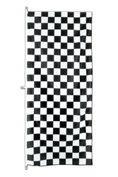 Checkered Vertical Hanging Flag 80 x 200 cm