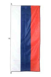 Russia Vertical Hanging Flag 80 x 200 cm
