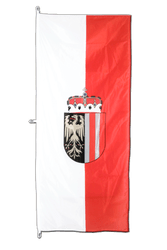 Upper Austria - Vertical Hanging Flag 80 x 200 cm