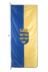 Lower Austria Vertical Hanging Flag 80 x 200 cm