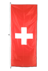 Switzerland Vertical Hanging Flag 80 x 200 cm