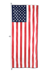 USA Vertical Hanging Flag 80 x 200 cm
