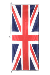 Great Britain - Vertical Hanging Flag 80 x 200 cm