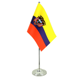 Ecuador Satin Table Flag 6x9""